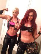 Dana Brooke & Becky Lynch