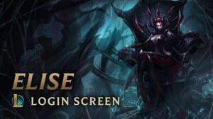Elise, the Spider Queen Login Screen - League of Legends