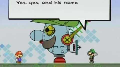 Super Paper Mario Boss Battle Mr