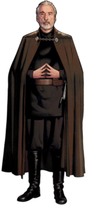 Count Dooku CG Art