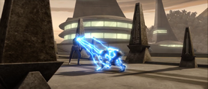 Count Dooku energy bolts