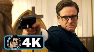 KINGSMAN THE SECRET SERVICE Movie Clip - Church Massacre 4K ULTRA HD Colin Firth Action 2014
