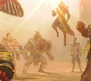 Kothal Kan's army