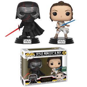Kylo Ren Supreme Leader and Rey POP