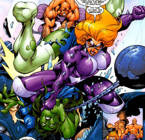 Titania vs She-Hulk