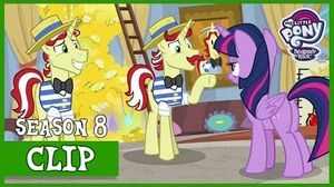 Twilight Uncovers the Truth behind Flim and Flam's U (Friendship University) MLP FiM HD