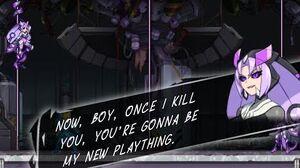 Azure Striker Gunvolt Dialogue Boss - Elise (Stratocombs)