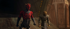 Darth Maul Savage exit