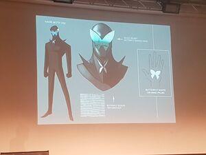 Hawk Moth - Second Version Concept Art