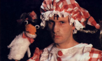Insane Rimmer and Mr. Flibble