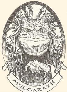 Mulgarath in the book series