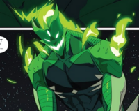 Psycho Green's monster form