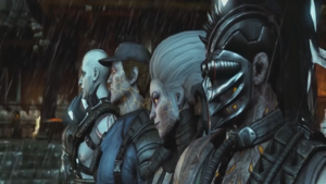 Quan Chi and his Revenants
