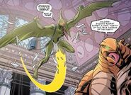Sauron (Earth-616) and Stegron (Earth-616) from Spider-Man and the X-Men Vol 1 1