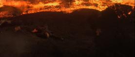 Vader burnt