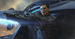 Zod leading the assault on the House of El