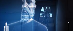 Dooku Citadel hologram
