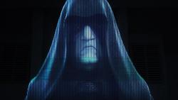 Emperor Palpatine holographic