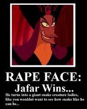 Jafarsrapeface