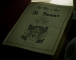 The Will and Order of St Dumas