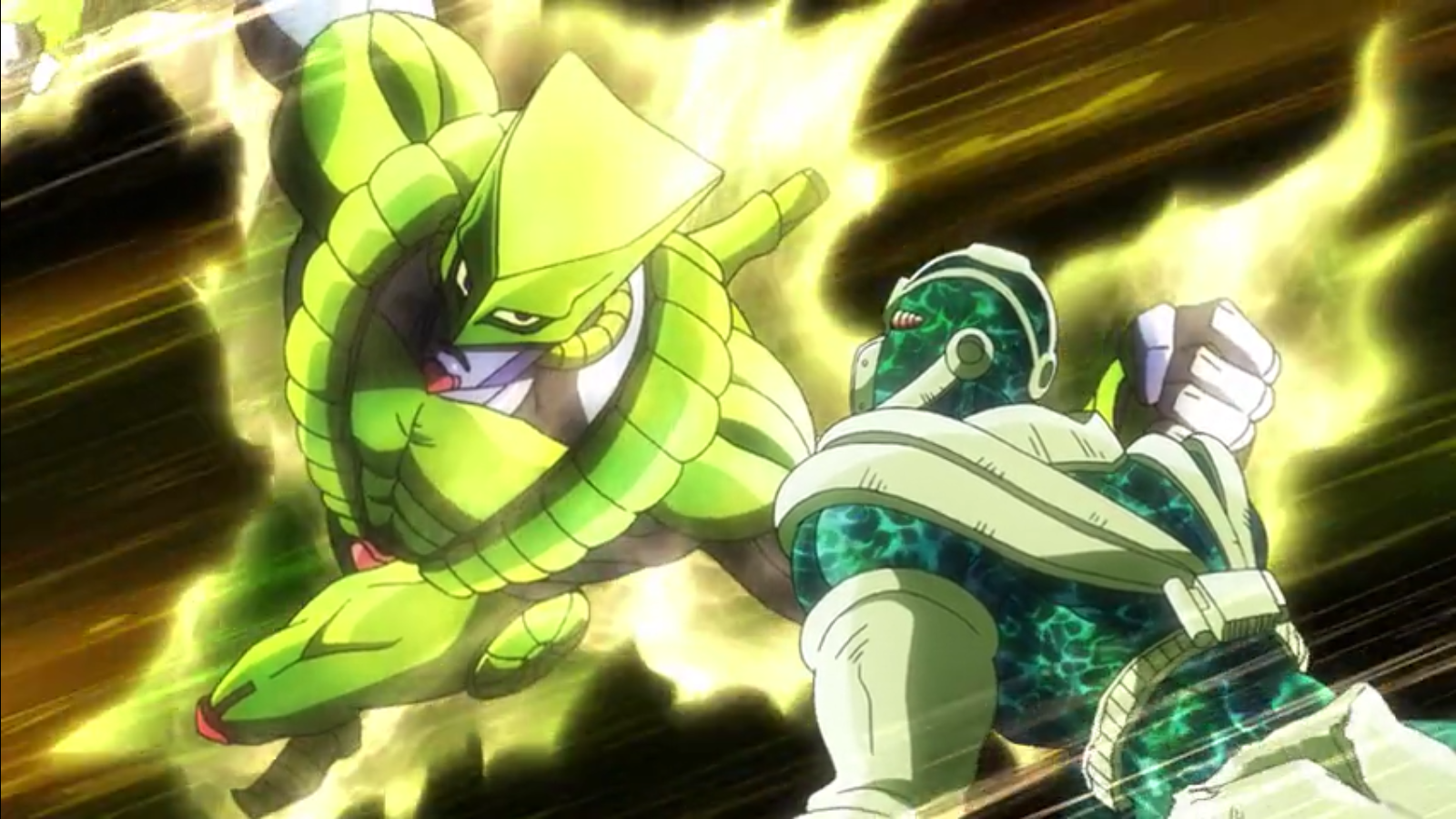 Image The World Vs Hierophant Green Png Villains Wiki