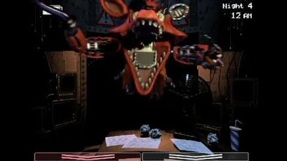 Withered Foxy Jumpscare