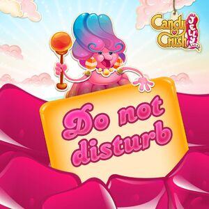 Do not disturb Jelly Queen
