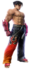 Jin Kazama - Full-body CG Art Image - Tekken 6