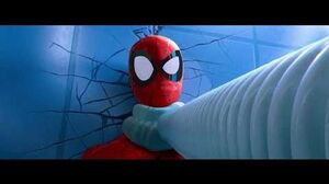 Spider-Man Into the Spider-Verse (2018) Opening Scene