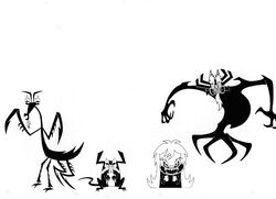 The Many Forms Of Aku IV by Nes44Nes