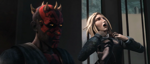 Darth Maul choking