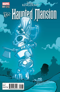 Disney Kingdoms Haunted Mansion Issue 1 Skottie Variant