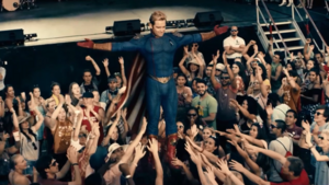 Homelander-crowd