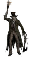 Huntsman Bloodborne Concept Art
