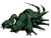 Invid Scorpion Assault Carrier (Palladium, Robotech Roleplaying Game)
