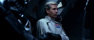 Krennic Aboard his shuttle