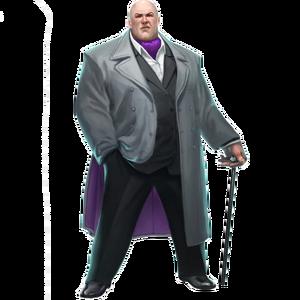 Marvel Comics Kingpin (Render)