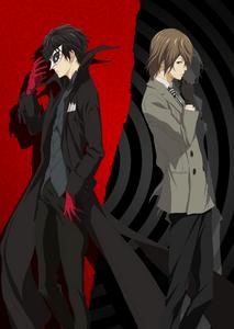 P5A Joker and Akechi Visual