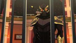 Talon Murders the Court of Owls - Batman VS Robin