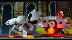 Lego Dimensions Boss 34 Robo Sonic, Mecha Sonic & Metal Sonic