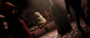 Count Dooku Jabba's court