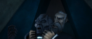 Count Dooku guard strangle