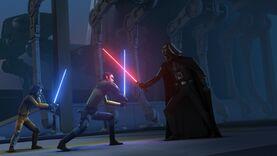 Darth Vader duels