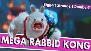 Mario + Rabbids Donkey Kong DLC - Mega Rabbid Kong Boss Fight