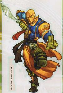 Shaolin Warrior Monk (Infinity, Core Book)