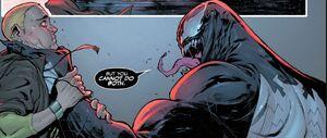 Venom (Klyntar) (Earth-616) and Edward Brock (Earth-616) from Venom Vol 4 26 0001