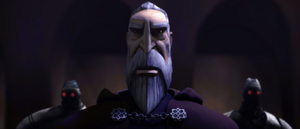 Count Dooku back-up