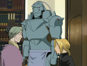 Dante meeting The Elric Brothers