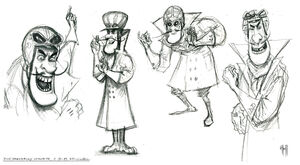 Dick Dastardly Official Concept Art