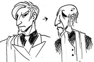 Lorenzo sketches
